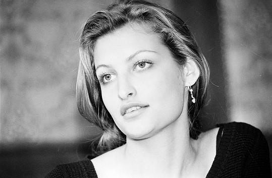 Tereza Maxová v roce 1993. Tehdy jí bylo 22 let.