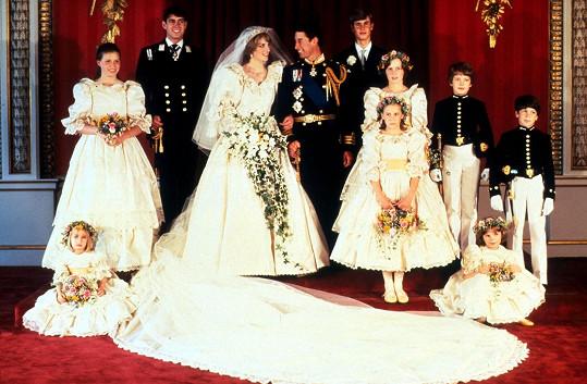 Šlo o nejsledovanější svatbu v historii.