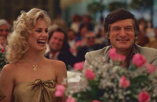 Dorothy Stratten s Hughem Hefnerem. Krásnou playmate zavraždil žárlivý manžel.