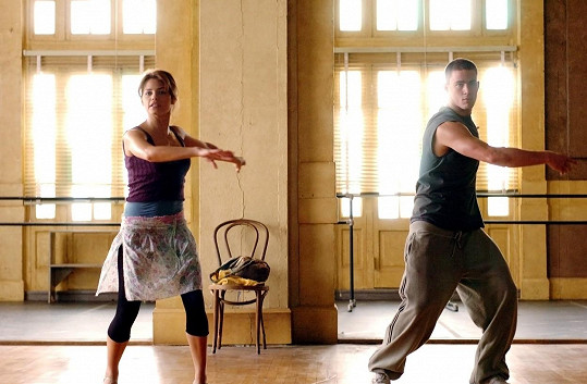 Dali se dohromady při natáčení snímku Let´s Dance (2006).