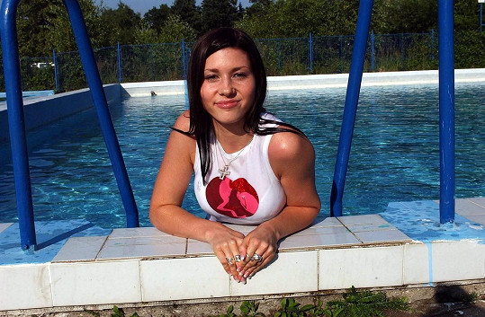 Tereza Kerndlová v roce 2003