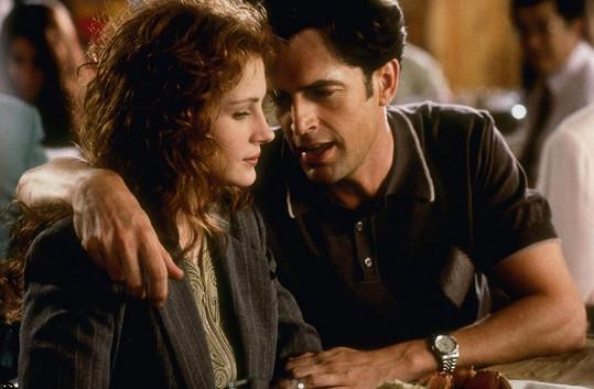 S Julií Roberts v komedii Svatba mého nejlepšího přítele
