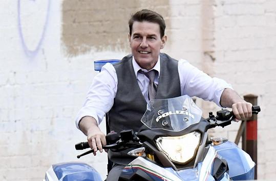 Tom Cruise intenzivně maká na dokončení Mission: Impossible 7.