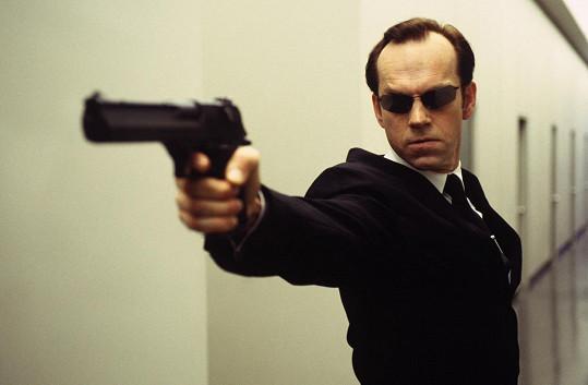 Hugo Weaving jako agent Smith