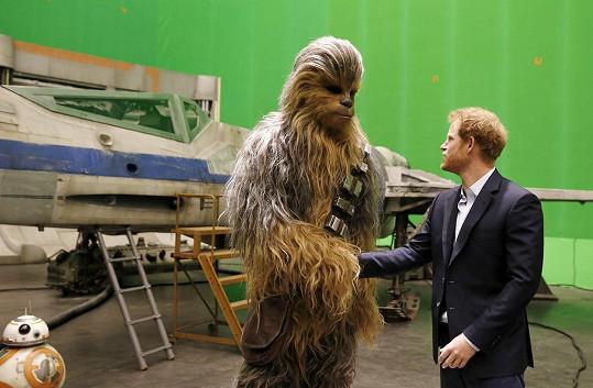 Harry a Chewbacca