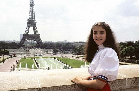 Céline v Paříži v červenci 1982