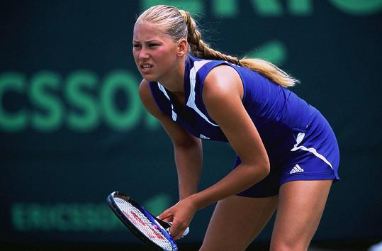 Anna svého času platila za nejhezčí tenistku.