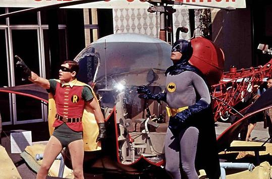 Ward s Adamem Westem v ústřední roli Batmana. Herce pojilo dlouholeté přátelství.