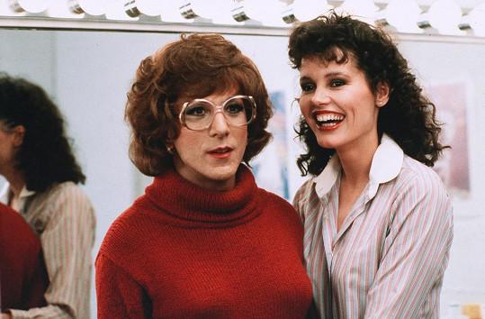 První filmová role Geeny Davis v komedii Tootsie (1982)