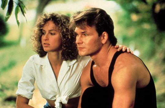 S Patrickem Swayzem jako Baby a Johnny v Hříšném tanci (1987)