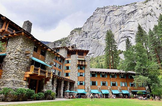 Malebné ubytování v horách Yosemitského národního parku