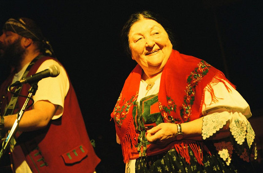 Jarmila Šuláková v roce 2000