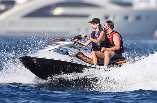 Alessandra Ambrosio s Jamiem Mazurem