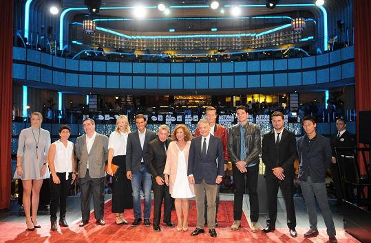 Petra Kvitová na oficiální párty Mutua Madrid Open ve hvězdné společnosti. Nechybí ani Tomáš Berdych.