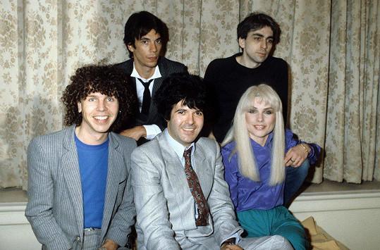 Skupina Blondie ve svých začátcích