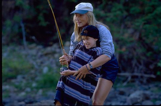 V Divoké řece (1994) si Joe zahrál s Meryl Streep.