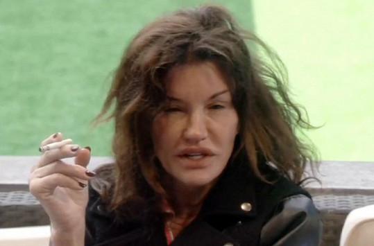 Janice Dickinson v reality show moc velkou parádu nenadělala...