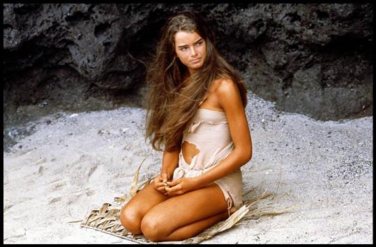 Brooke Shields ve filmu Modrá laguna (1980)