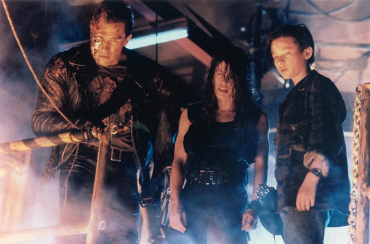 Edwardův veleúspěšný debut s Terminátorem dvojkou...