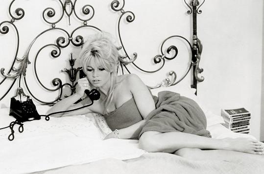 Brigitte Bardot byla svého času sex symbolem.