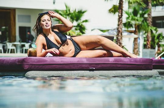 Ashley na dovolené v Mexiku