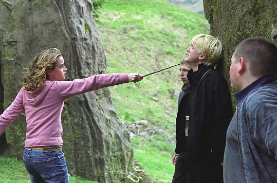 Tom Felton promluvil o své kolegyni z Harryho Pottera Emmě Watson.