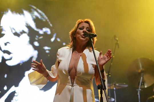 Sandra koncertovala v Lucerně.