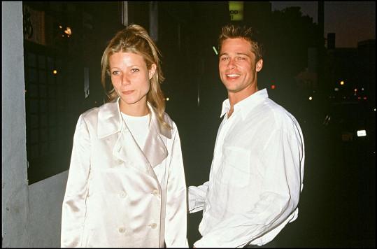 Pitt s Paltrow chodil v letech 1994 - 1997 a byli dokonce zasnoubení.