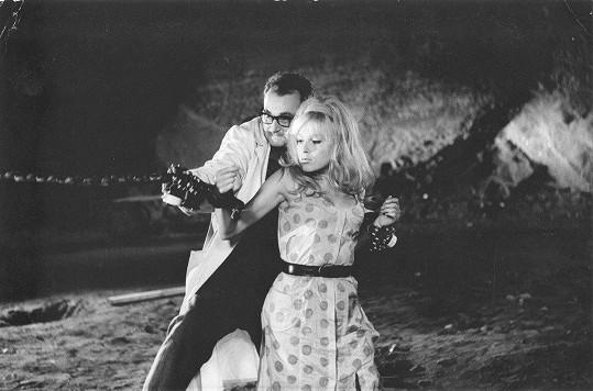 Olga Schoberová ve filmu Kdo chce zabít Jessii? (1966)