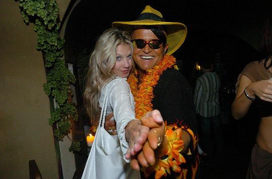 Sabina s Danem si v komedii zahráli manželský pár.