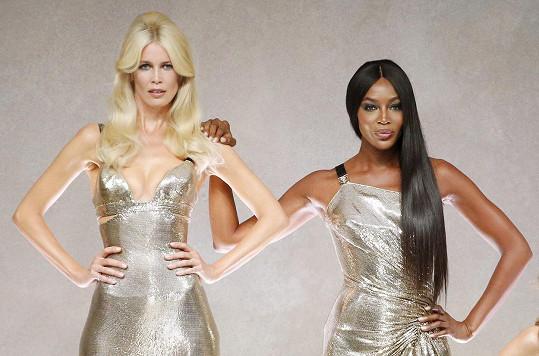 S Naomi Campbell jsou stále pracovně aktivní.