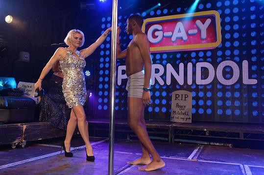 Danniella byla součástí poroty soutěže G-A-Y Porn Idol.