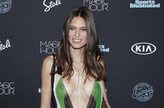 Italská topmodelka Bianca Balti (33) na slavnostní večeři ´Event at Magic Hour 2018´ pořádané magazínem Sports Illustrated Swimsuit