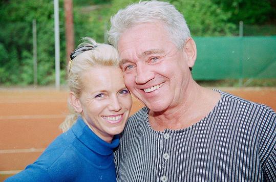 Hana Krampolová a Jiří Krampol v roce 1999