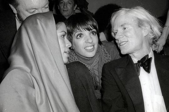 S Andym Warholem byli do určité doby přátelé.
