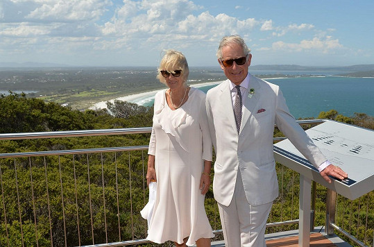 Princ Charles vyrazil s Camillou do Austrálie.