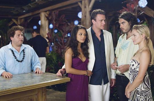S Milou Kunis a Kristen Bell ve snímku Kopačky, ke kterému Segel napsal scénář.