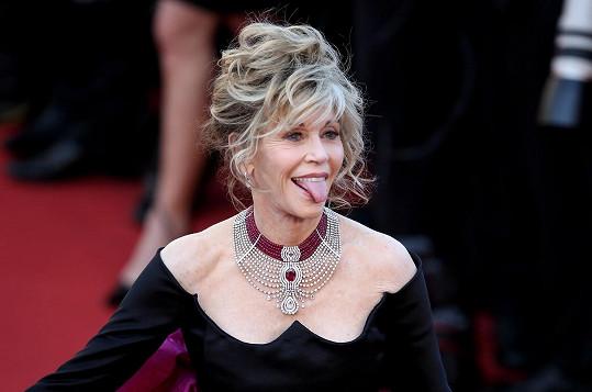 Jane Fonda práskla, kdo byl nejlepším líbačem v Hollywoodu.