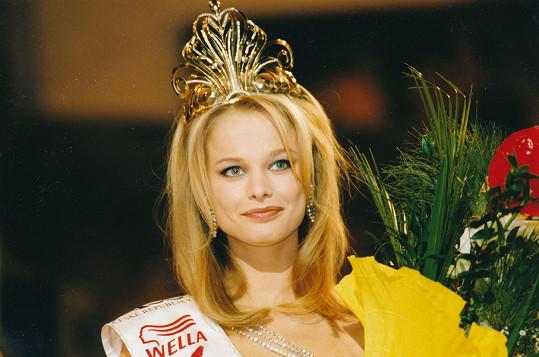 Helena Houdová vyhrála v roce 1999 Miss ČR.