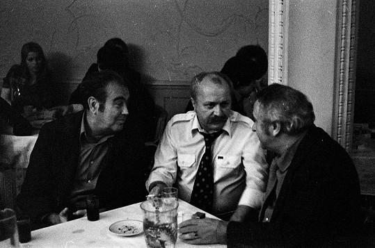 Vladimír Svitáček, Ján Roháč a Miroslav Horníček