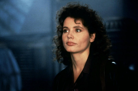 Geena Davis ve svém první velké roli ve filmu Moucha (1986)