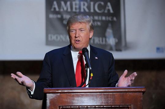 Donald Trump je bezesporu nejvýraznějším kandidátem na prezidentskou nominaci.
