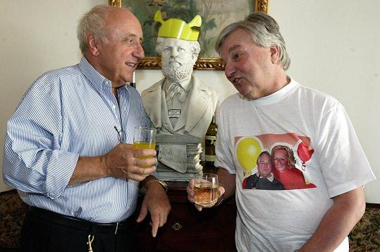 Přátelil se i s Felixem Slováčkem.