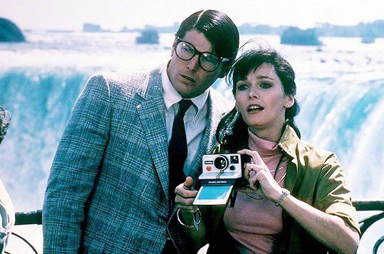 Margot Kidder a Christopher Reeve ve filmu Superman 2 (1980)