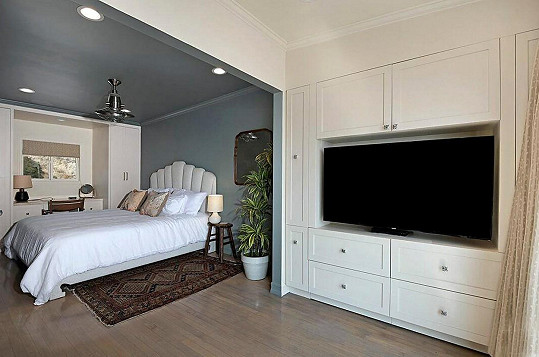 Dům má posle serveru Realtor.com tři ložnice.
