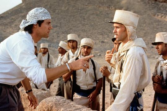 S postavou Benim Gaborem (vpravo) to ve filmu nedopadlo dobře.