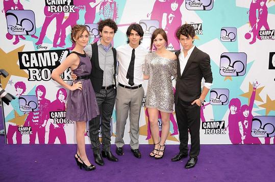 S Jonas Brothers a Demi Lovato se blýskla v muzikálu Camp Rock.