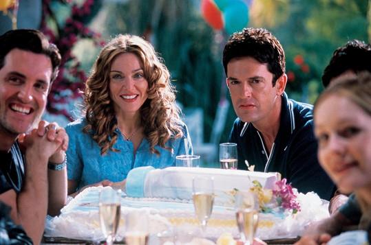 Po boku Madonny si zahrál ve filmu Další správná věc.