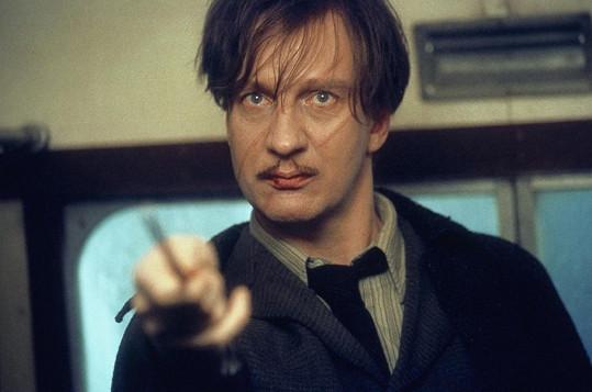 Thewlis jako profesor Lupin v Harrym Potterovi