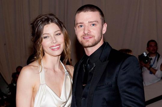 Justin Timberlake a Jessica Biel tvoří krásný pár.